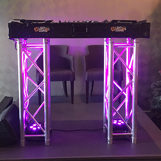 Illuminated Truss Dj Truss Table Jp Light Amp Sound