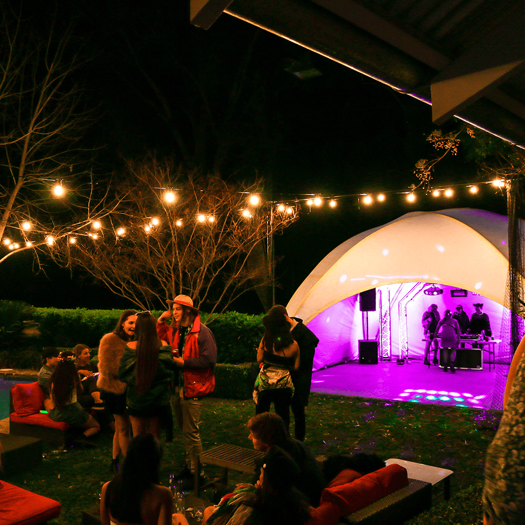 Festoon Light Hire Adelaide - JP Light & Sound - JP Event Management - Party, Wedding and Event Hire Adelaide