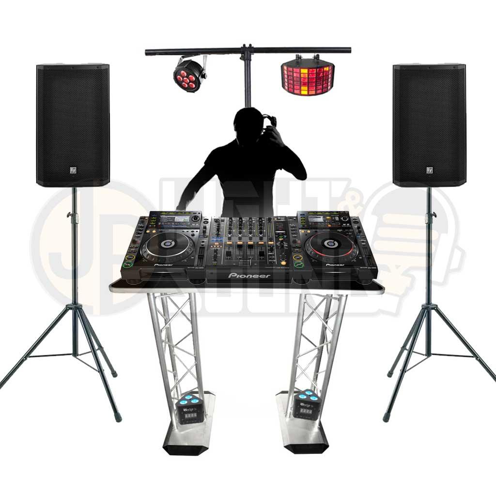 Event DJ Package 2 - JP Light & Sound Hire