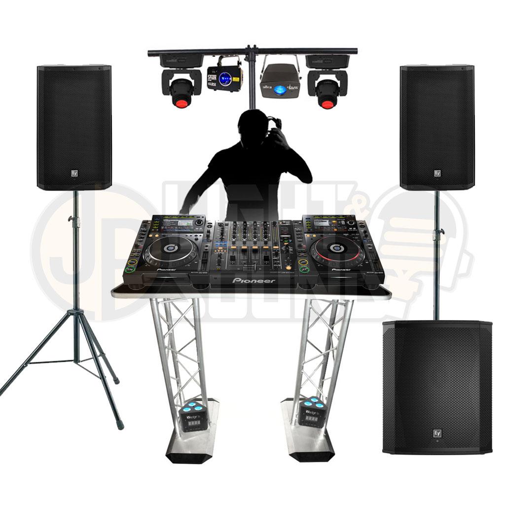 Event DJ Package 5 - JP Light & Sound Hire