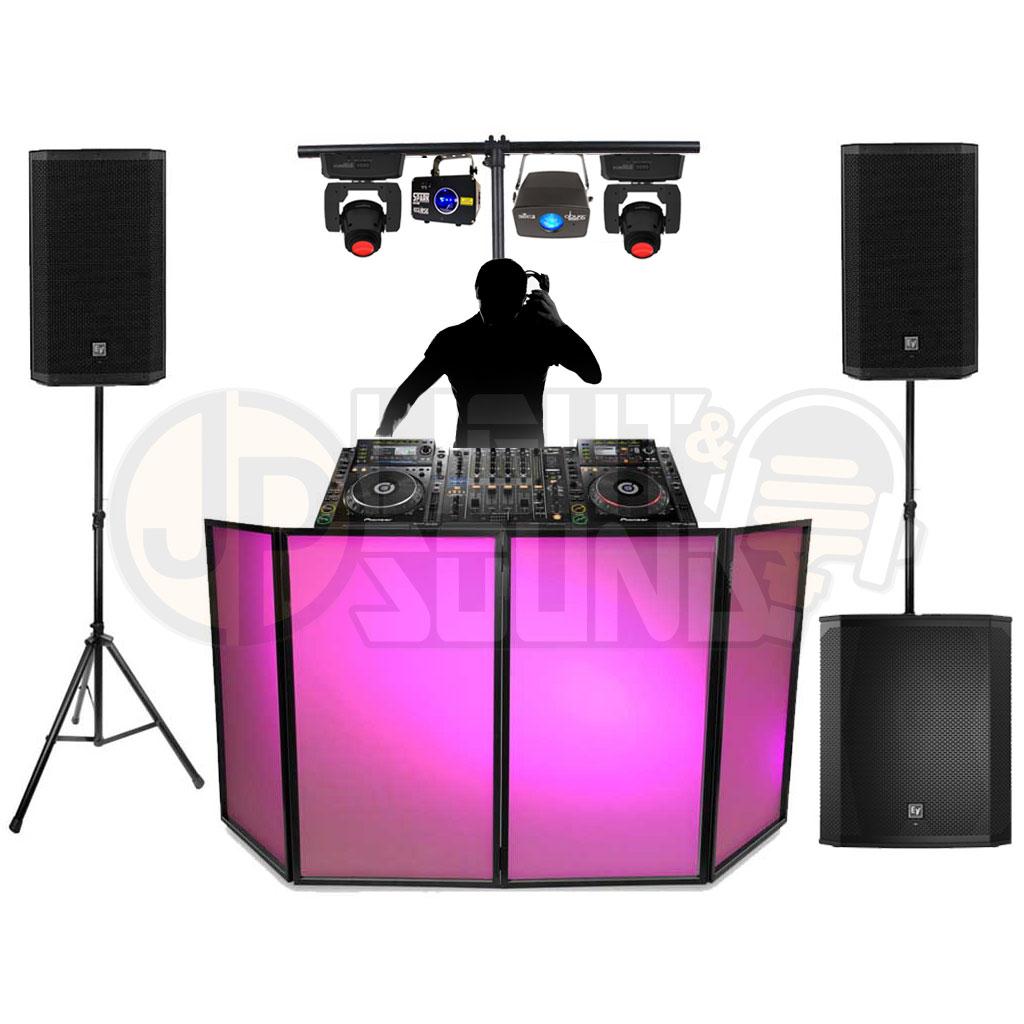 Event DJ Package 6 - JP Light & Sound Hire