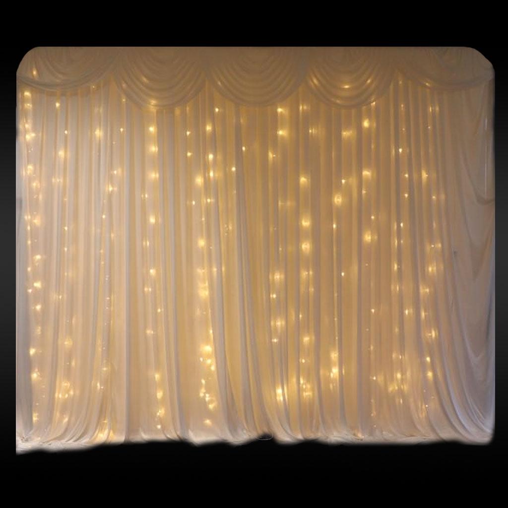 Fairy Light Curtain Backdrop - JP Light & Sound Hire